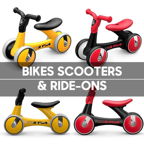 Bikes, Scooters & Ride-Ons