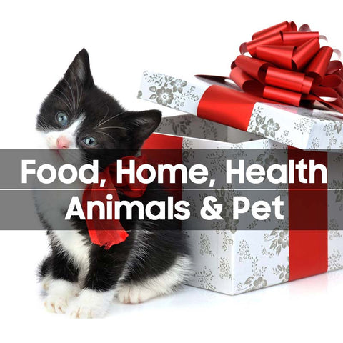 Food, Home, Health, Animals & Pet