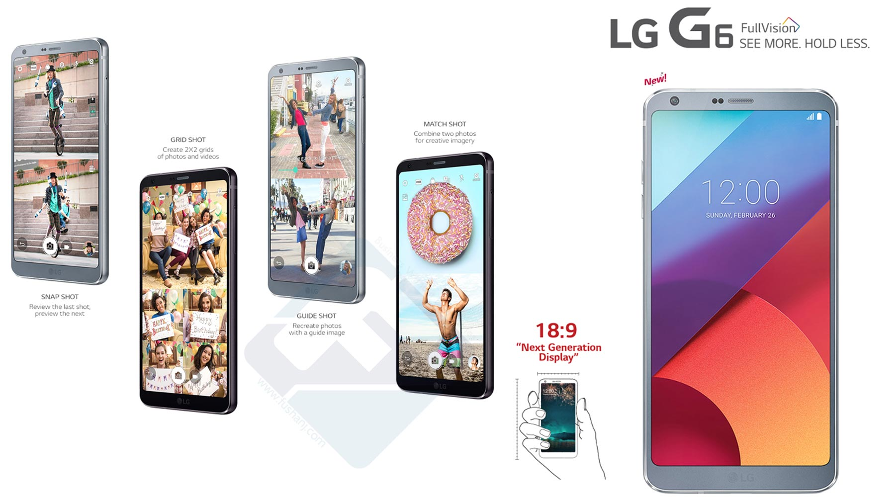 LG G6 Fingerprint Dual Camera 4G LTE Best Price Dubai UAE
