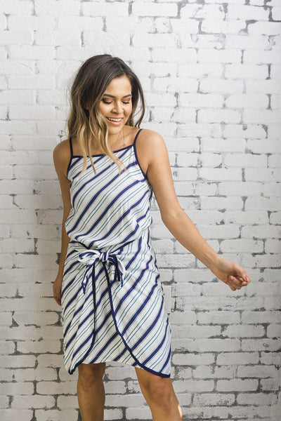 MINKPINK 'Roadtrip' Wrap Dress