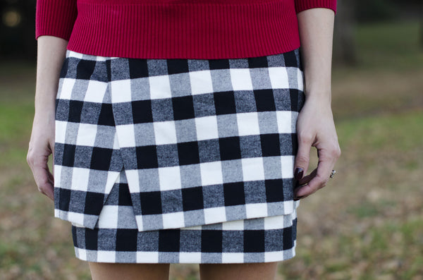 S.I.C. Couture 'Milli' Plaid Skirt