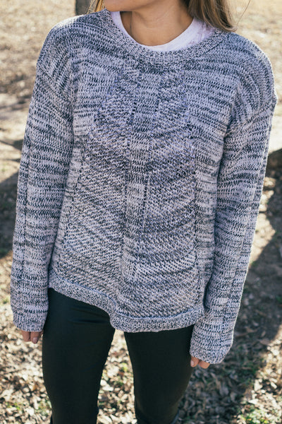 MINKPINK 'Marle' Sweater in Grey