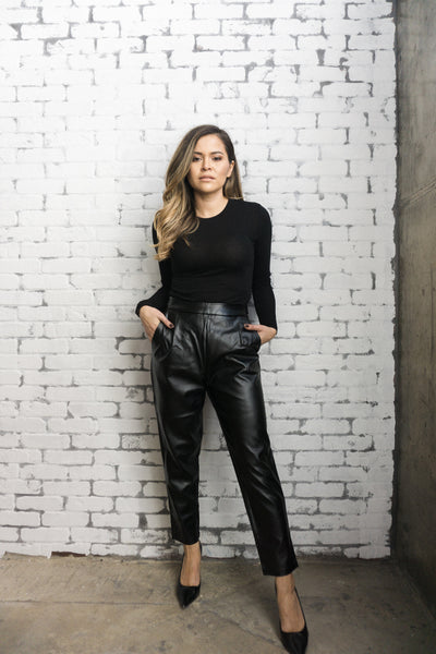 Minkpink 'Audrey' Faux Leather Pants