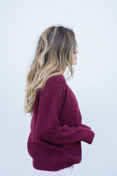 minkpink carmen criss cross sweater