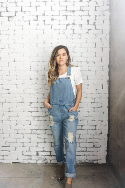 'Brooklyn' Denim Overalls