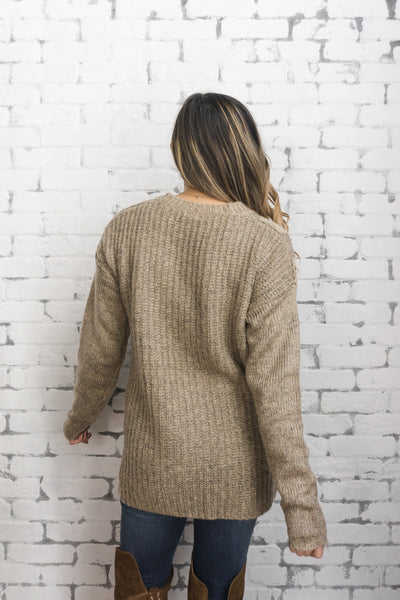 PPLA 'Topaz' Sweater in Camel