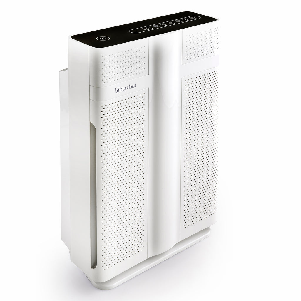 Biota Bot Air Purifier for Large Rooms For Allergies and Pets comes with Industrial Size HEPA and Charcoal Filter Model #MM608
