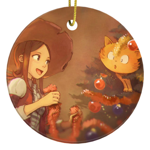 Peppel & Carrot Ornament