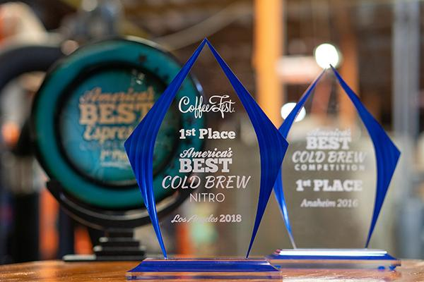GEN BREWING wins America's Best Cold Brew Nitro at Coffee Fest using Klatch Coffee Ethiopia Yirgacheffe Sakaro