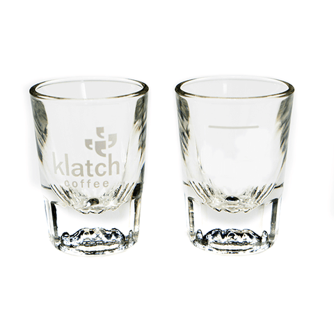 Klatch Espresso Shot Glass ~ Set of 2