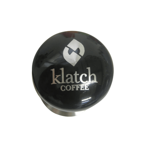 Klatch Glass Black Powder Coat Tamper