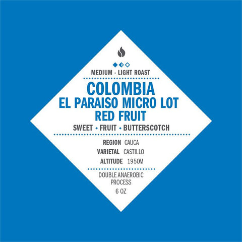 Colombia El Paraiso Anaerobic Red Fruit