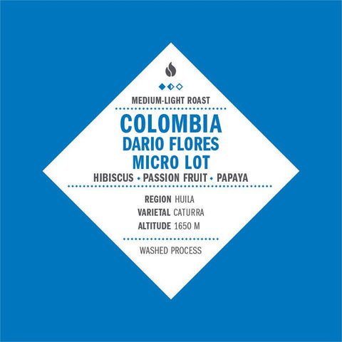 Colombia Dario Flores Micro Lot