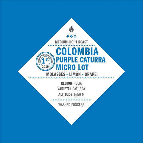 Colombia Purple Caturra Micro Lot