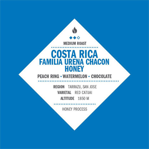 Costa Rica Familia Urena Chacon Honey