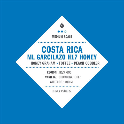 Costa Rica ML Garcilazo H17 Honey