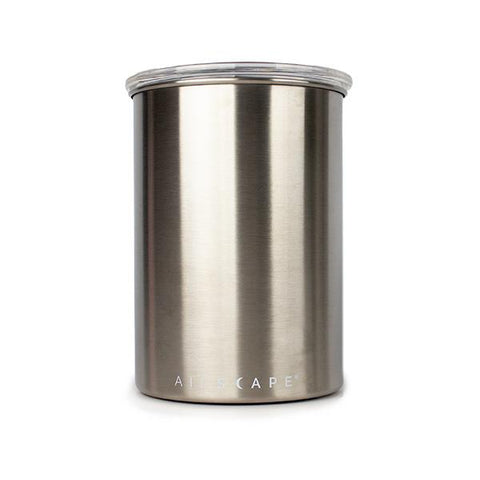 Airscape® Classic Brush Stainless Steel Canister