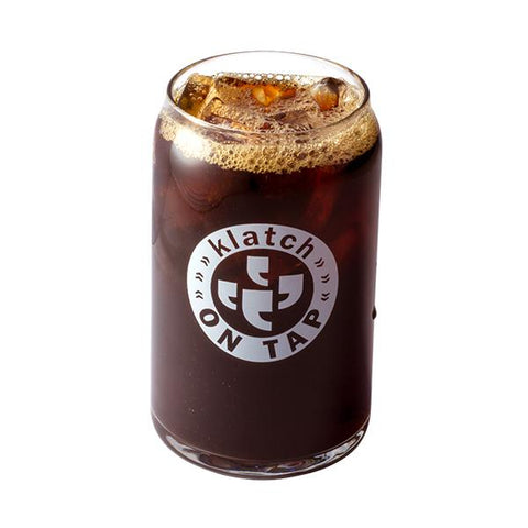 Klatch On Tap 16oz Klatch Coffee Cold Brew Glass Can