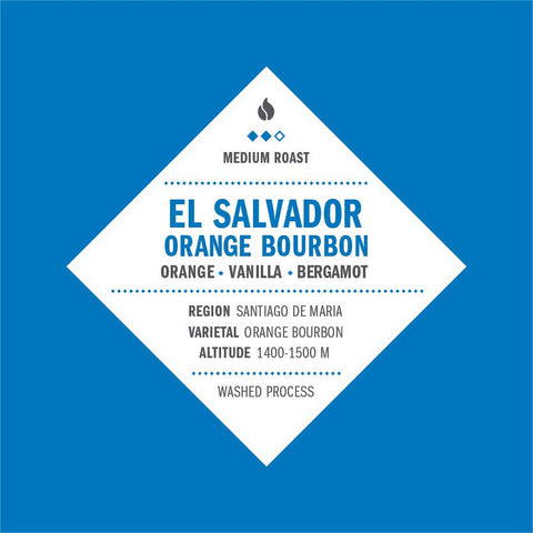 El Salvador Orange Bourbon