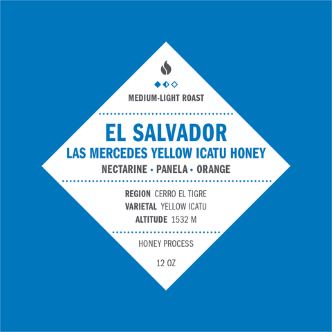 El Salvador La Mercedes Yellow Icatu Honey