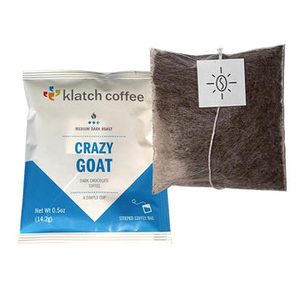 Single Serve Coffee - Klatch Coffee Crazy Goat