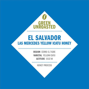 Green-Unroasted El Salvador Las Mercedes Yellow Icatu Honey