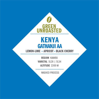 Green-Unroasted Kenya Gathanji AA