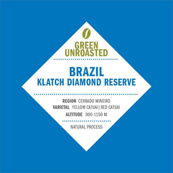 Green-Unroasted Brazil Klatch Diamond Reserve