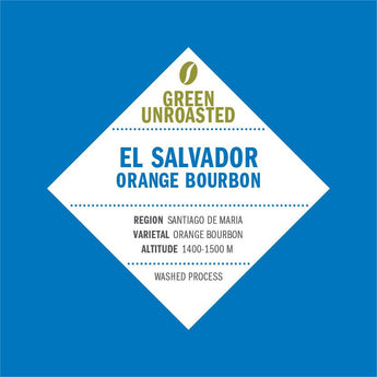 Green-Unroasted El Salvador Orange Bourbon