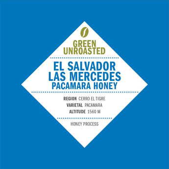 Green-Unroasted El Salvador Las Mercedes Pacamara Honey