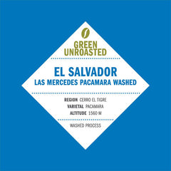 Green-Unroasted El Salvador Las Mercedes Pacamara Washed