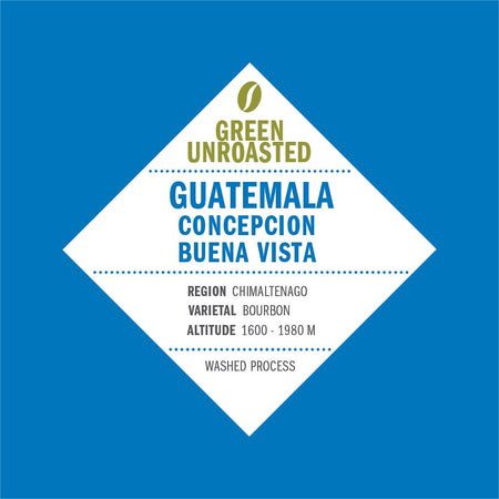 Green-Unroasted Guatemala Concepcion Buena Vista