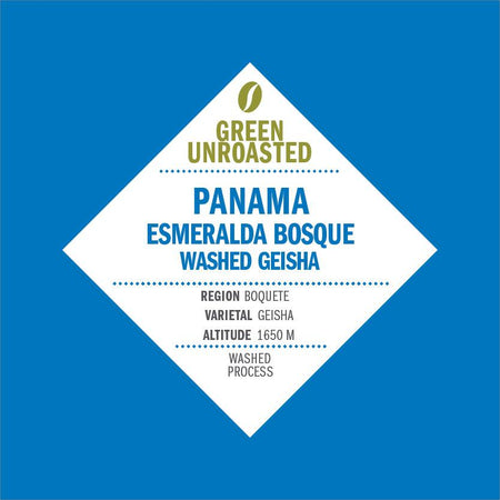 Green-Unroasted Panama Esmeralda Bosque Washed Geisha