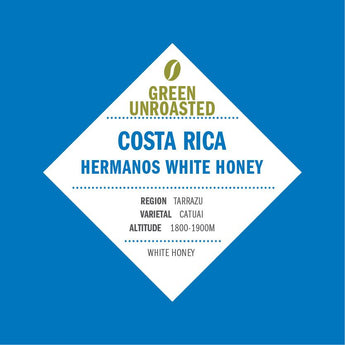Green-Unroasted Costa Rica Hermanos White Honey