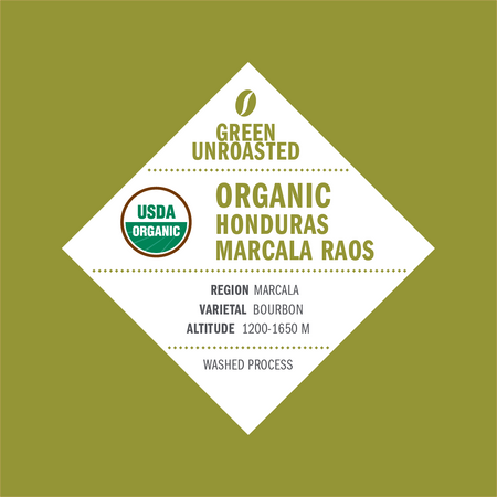 Green-Unroasted Organic Honduras Marcala Raos - Klatch Coffee Roasting