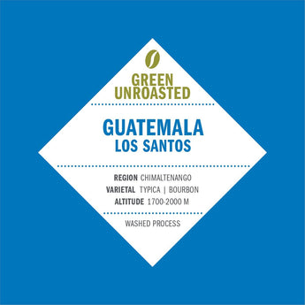 Green-Unroasted Guatemala Los Santos - Klatch Coffee Roasting