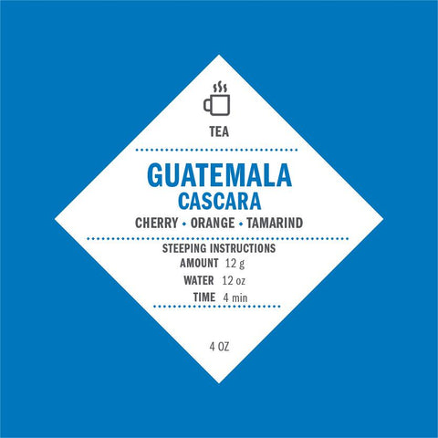 Guatemala Cascara Tea