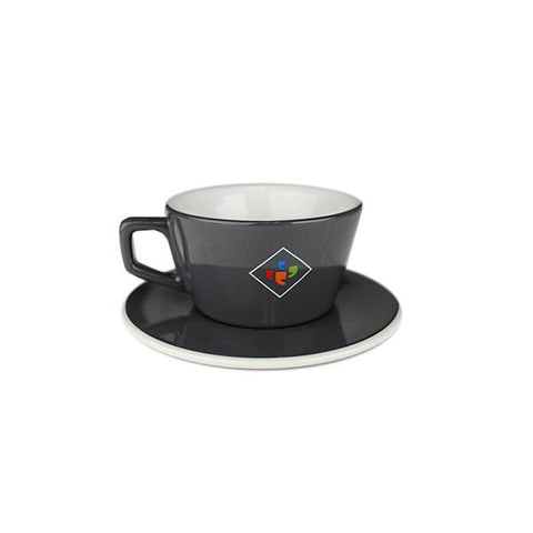 6 oz. Klatch Coffee Angle Cappuccino Cup