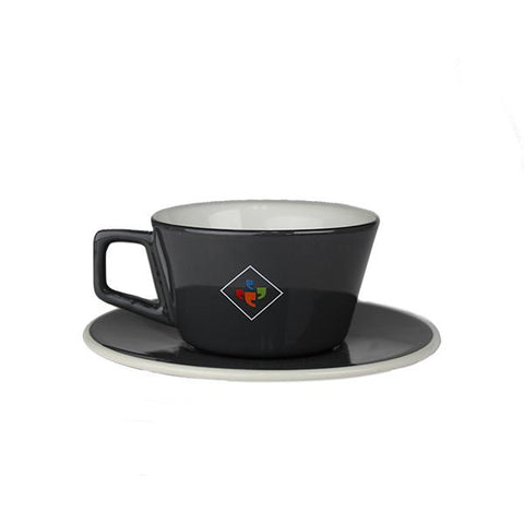 12 oz. Klatch Coffee Angle Latte Cup