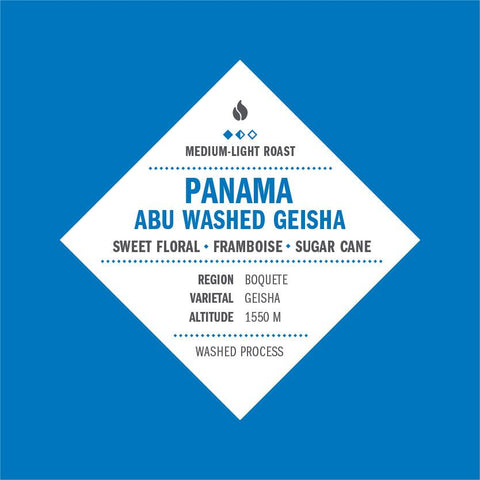 Panama Abu Washed Geisha