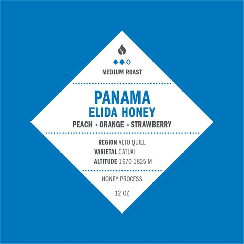 Panama Elida Honey