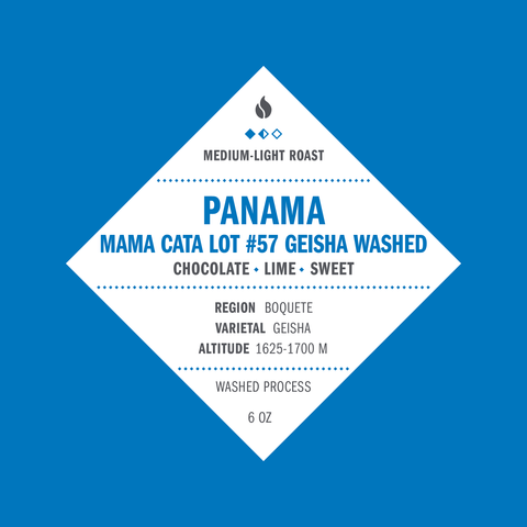 Panama Mama Cata Lot # 57 Geisha Washed