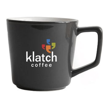 12oz Klatch Coffee Angle Mug