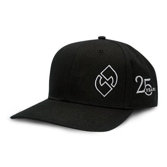 25th Anniversary Silver Logo Snapback Hat - Klatch Coffee Roasting