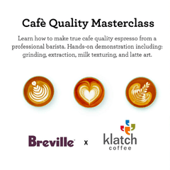 Breville Masterclass at Klatch Coffee