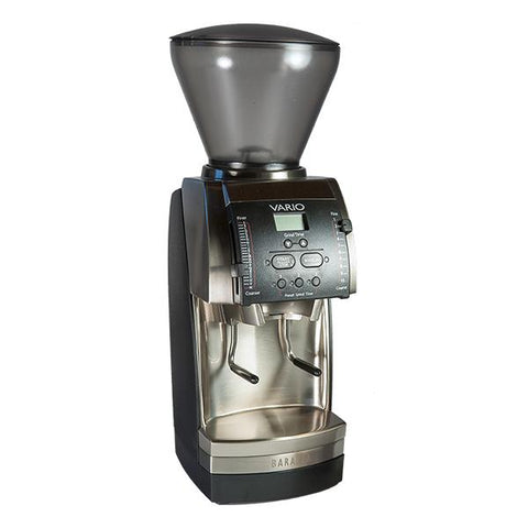 Baratza© Vario - Flat Ceramic Burr with Metal Portaholder and Bin