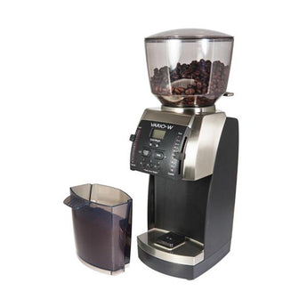 Baratza© Vario-W Flat Ceramic Burr with Shut-off Hopper and Bin