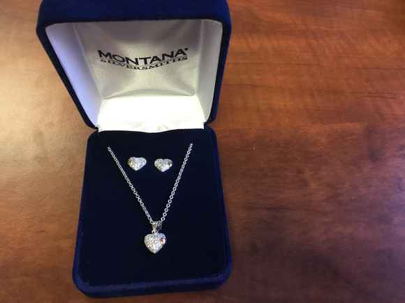 Montana Silversmith Kindred Hearts Jewelry Set