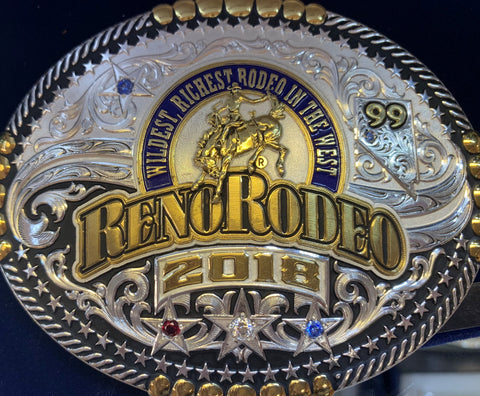 2018 Reno Rodeo Buckle
