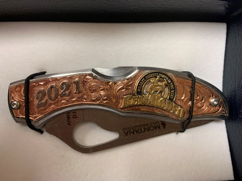 Reno Rodeo Knife Rose Gold
